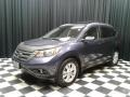 2012 Twilight Blue Metallic Honda CR-V EX-L  photo #2
