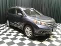 2012 Twilight Blue Metallic Honda CR-V EX-L  photo #4