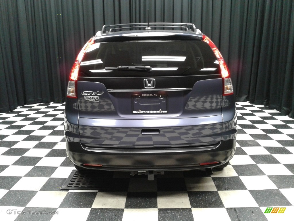 2012 CR-V EX-L - Twilight Blue Metallic / Gray photo #7