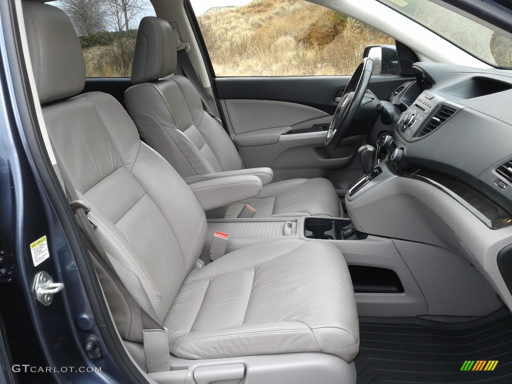 2012 CR-V EX-L - Twilight Blue Metallic / Gray photo #14