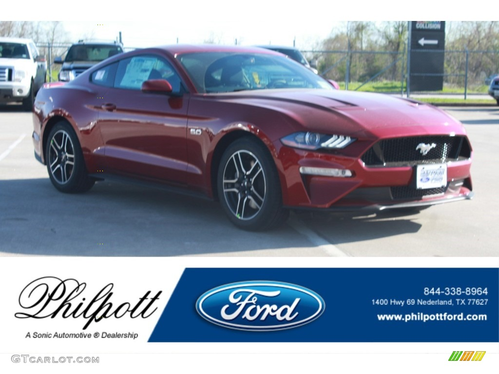 2018 Mustang GT Fastback - Ruby Red / Ebony photo #1