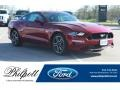 2018 Ruby Red Ford Mustang GT Fastback  photo #1