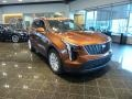 Autumn Metallic 2019 Cadillac XT4 Luxury AWD