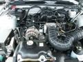 2007 Satin Silver Metallic Ford Mustang V6 Deluxe Coupe  photo #26