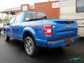 2019 Velocity Blue Ford F150 XLT SuperCrew 4x4  photo #3