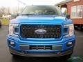 2019 Velocity Blue Ford F150 XLT SuperCrew 4x4  photo #5