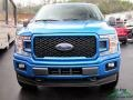 2019 Velocity Blue Ford F150 XLT SuperCrew 4x4  photo #9