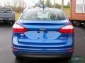 2019 Lightning Blue Ford Fiesta SE Sedan  photo #4