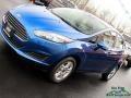 2019 Lightning Blue Ford Fiesta SE Sedan  photo #29