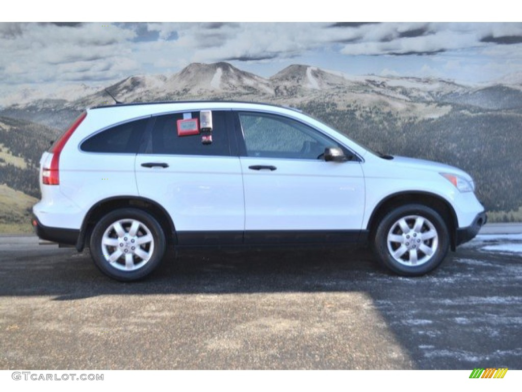 2008 CR-V EX 4WD - Taffeta White / Gray photo #2