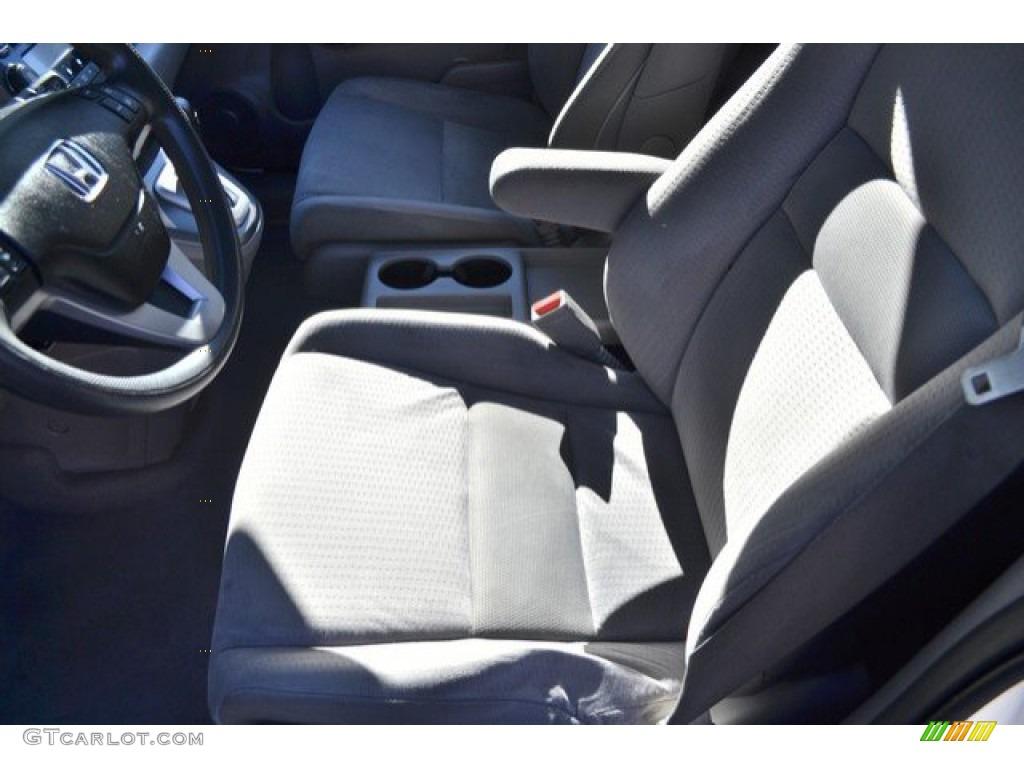 2008 CR-V EX 4WD - Taffeta White / Gray photo #11