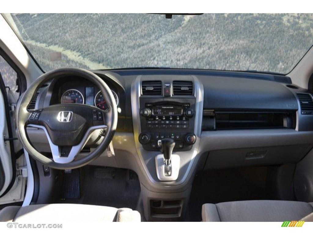 2008 CR-V EX 4WD - Taffeta White / Gray photo #13