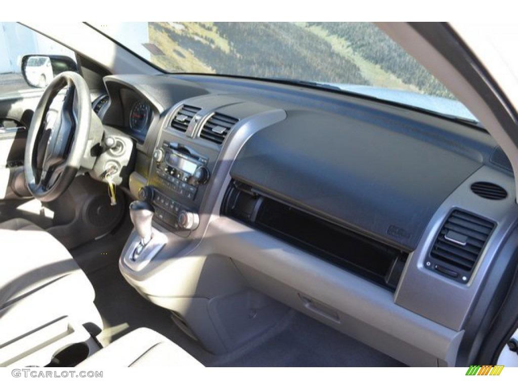 2008 CR-V EX 4WD - Taffeta White / Gray photo #17