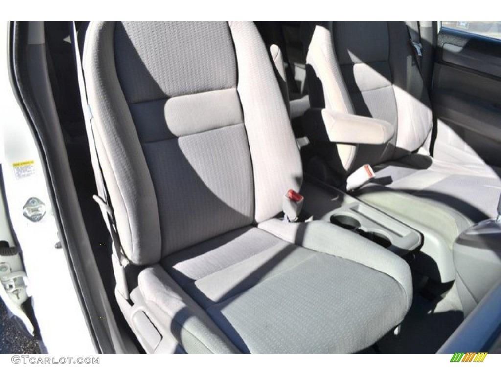 2008 CR-V EX 4WD - Taffeta White / Gray photo #19
