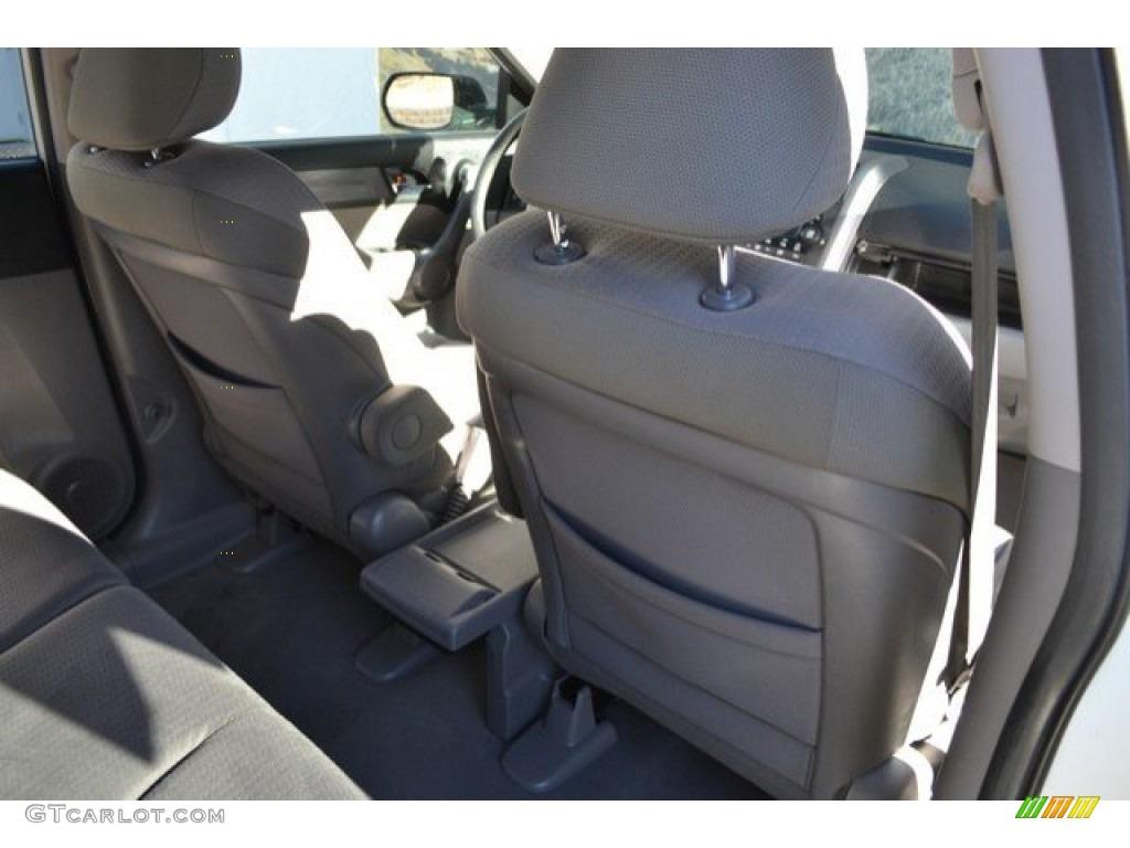 2008 CR-V EX 4WD - Taffeta White / Gray photo #22