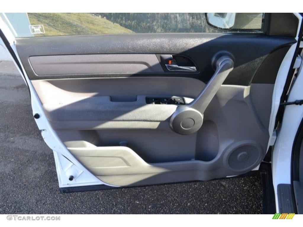 2008 CR-V EX 4WD - Taffeta White / Gray photo #25