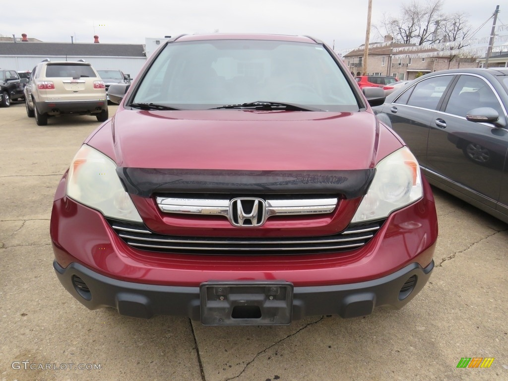 2009 CR-V EX 4WD - Tango Red Pearl / Gray photo #5