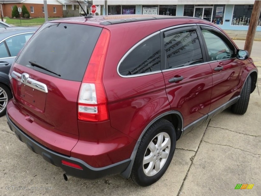 2009 CR-V EX 4WD - Tango Red Pearl / Gray photo #16