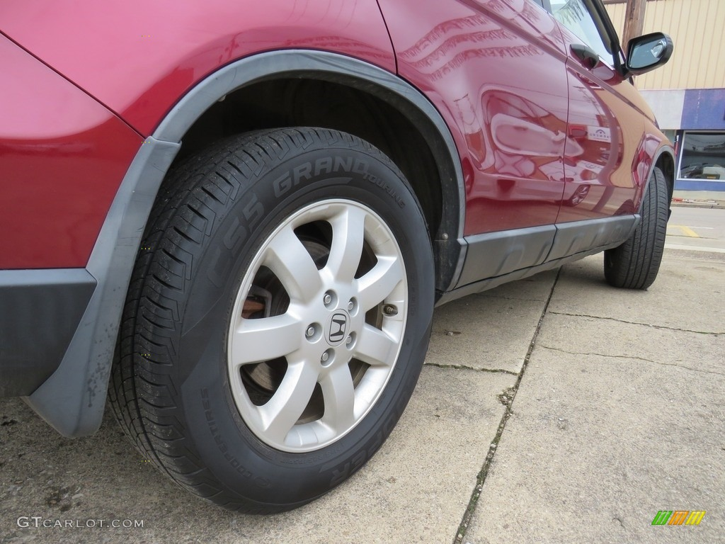 2009 CR-V EX 4WD - Tango Red Pearl / Gray photo #17