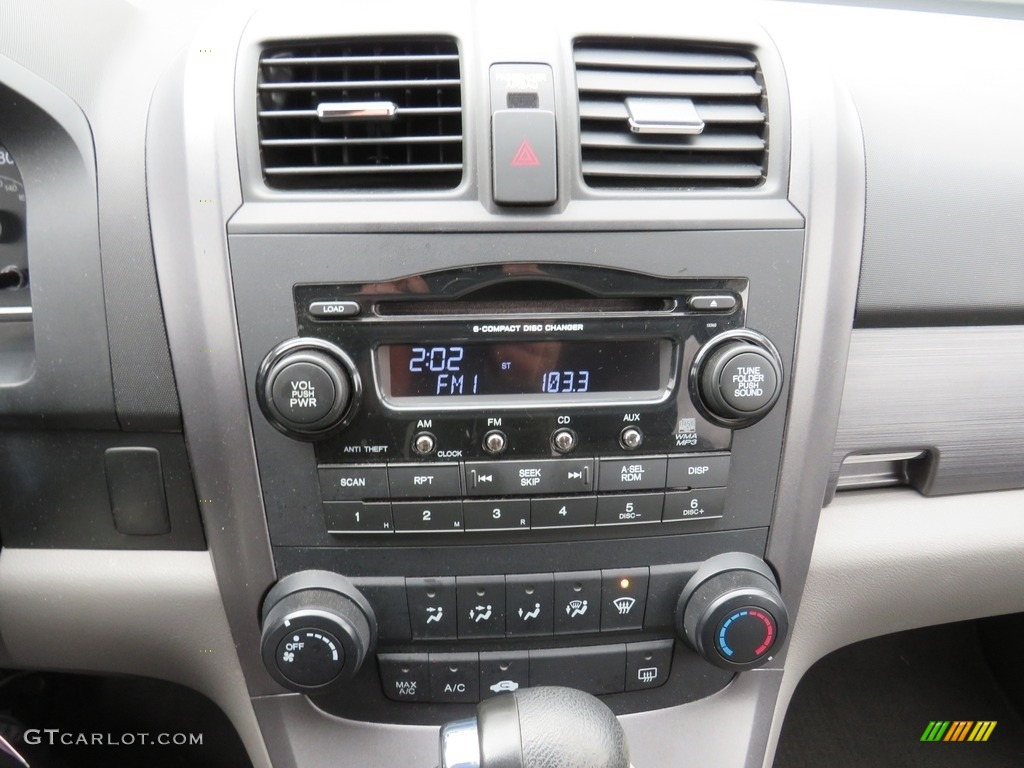 2009 CR-V EX 4WD - Tango Red Pearl / Gray photo #24