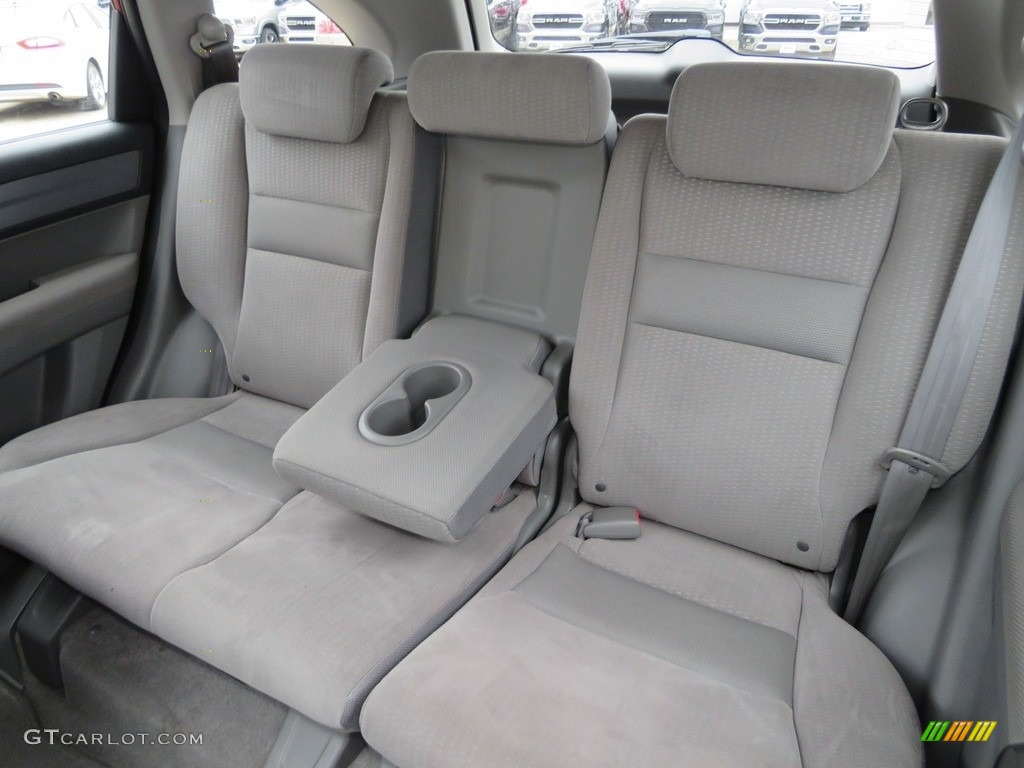 2009 CR-V EX 4WD - Tango Red Pearl / Gray photo #31