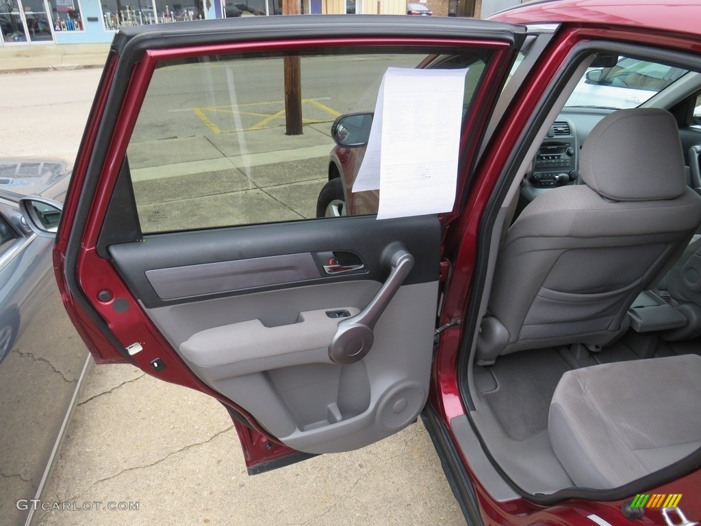 2009 CR-V EX 4WD - Tango Red Pearl / Gray photo #32