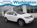 2011 Glacier White Pearl Nissan Murano LE AWD  photo #1