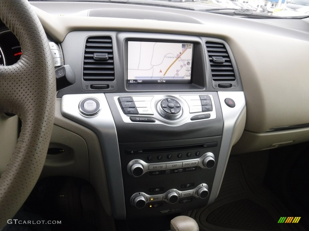 2011 Murano LE AWD - Glacier White Pearl / Beige photo #18