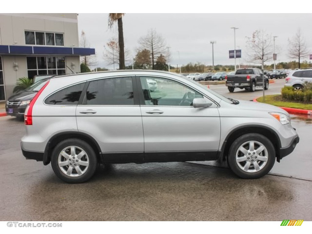 2009 CR-V EX-L - Alabaster Silver Metallic / Gray photo #8