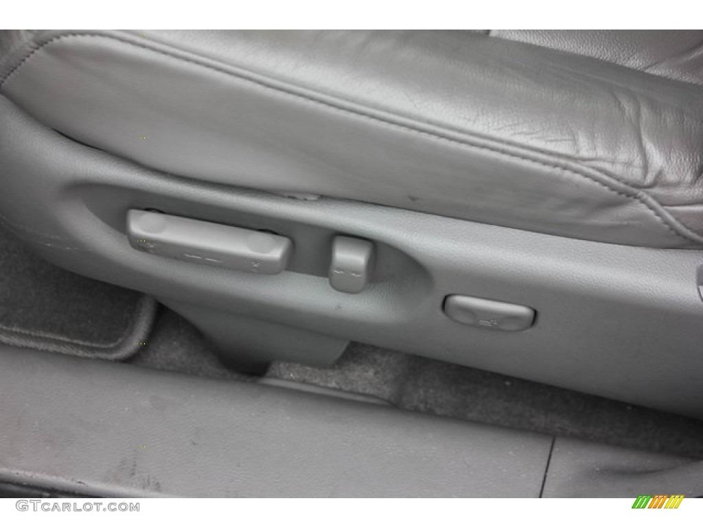 2009 CR-V EX-L - Alabaster Silver Metallic / Gray photo #17