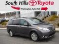 2016 Predawn Gray Mica Toyota Sienna XLE AWD  photo #1