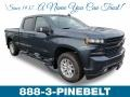 Shadow Gray Metallic 2019 Chevrolet Silverado 1500 RST Crew Cab