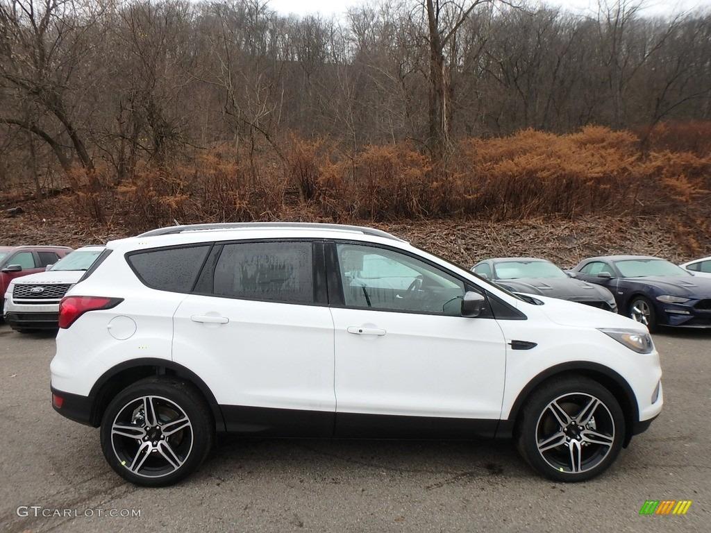 2019 Escape SEL 4WD - Oxford White / Chromite Gray/Charcoal Black photo #1