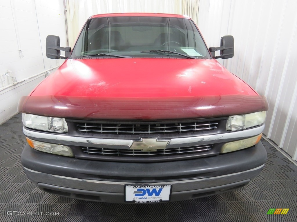 2000 Silverado 1500 LT Extended Cab 4x4 - Victory Red / Graphite photo #4