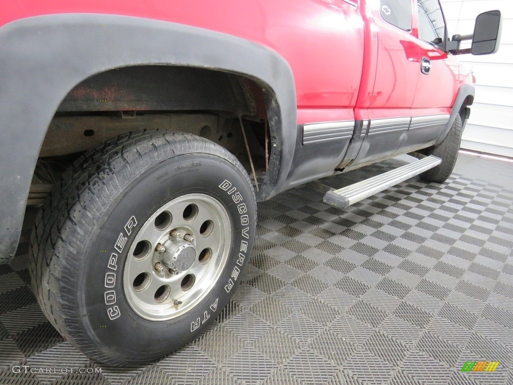 2000 Silverado 1500 LT Extended Cab 4x4 - Victory Red / Graphite photo #14