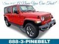 Firecracker Red 2019 Jeep Wrangler Unlimited Sahara 4x4