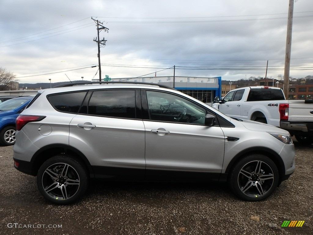 2019 Escape SEL 4WD - Ingot Silver / Chromite Gray/Charcoal Black photo #1