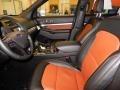 2019 Ford Explorer Medium Black/Desert Copper Interior Front Seat Photo