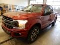 2019 Ruby Red Ford F150 XLT SuperCab 4x4  photo #4