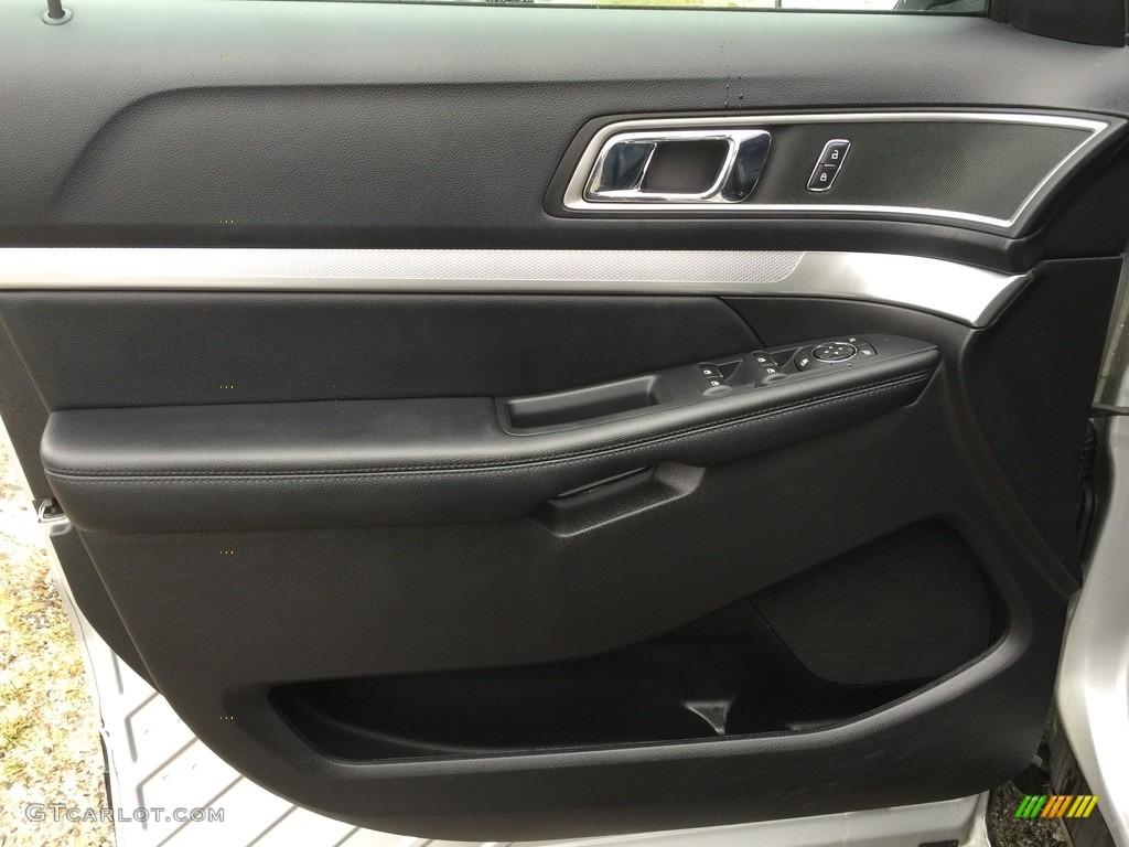2016 Explorer XLT 4WD - Ingot Silver Metallic / Ebony Black photo #8