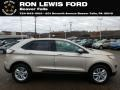 White Gold 2018 Ford Edge SEL AWD