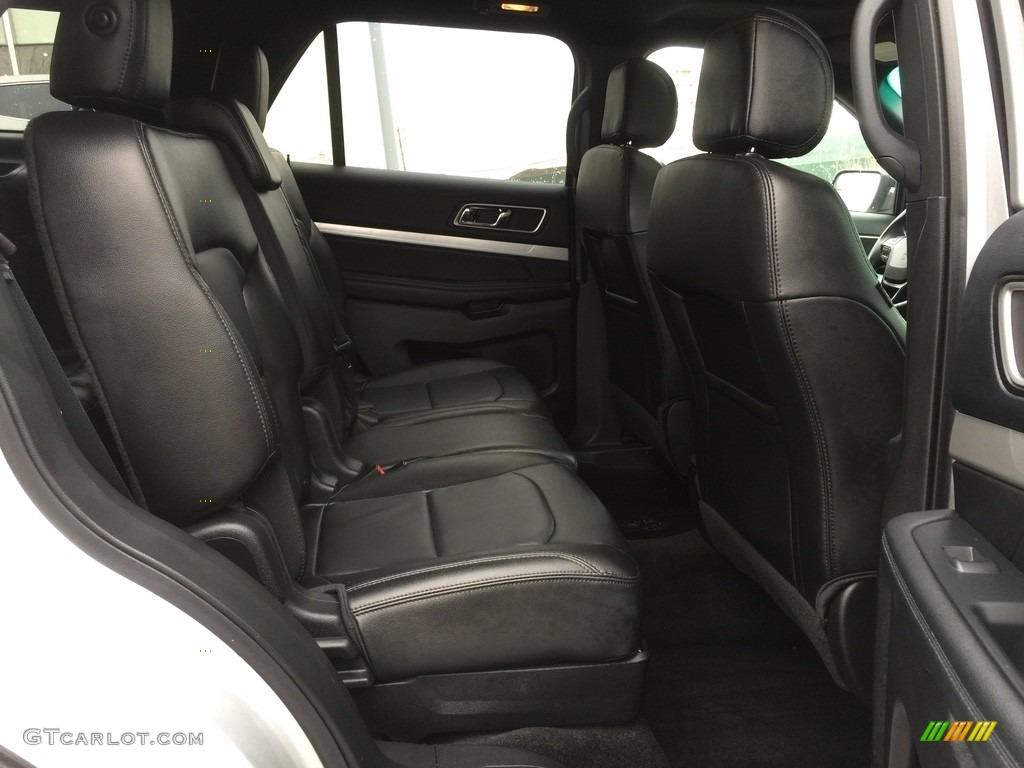 2016 Explorer XLT 4WD - Ingot Silver Metallic / Ebony Black photo #24