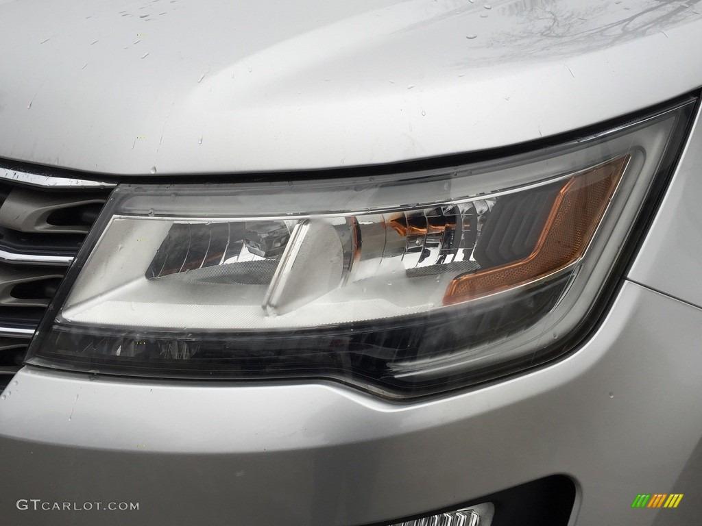 2016 Explorer XLT 4WD - Ingot Silver Metallic / Ebony Black photo #31