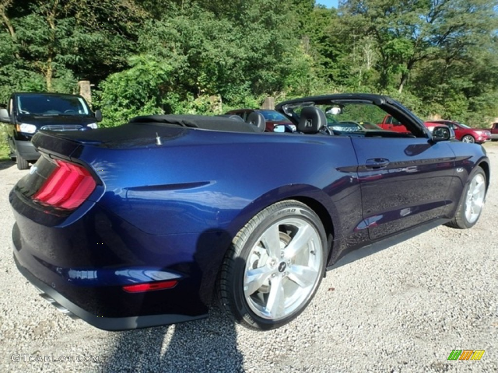2019 Mustang GT Premium Convertible - Kona Blue / Ebony photo #2