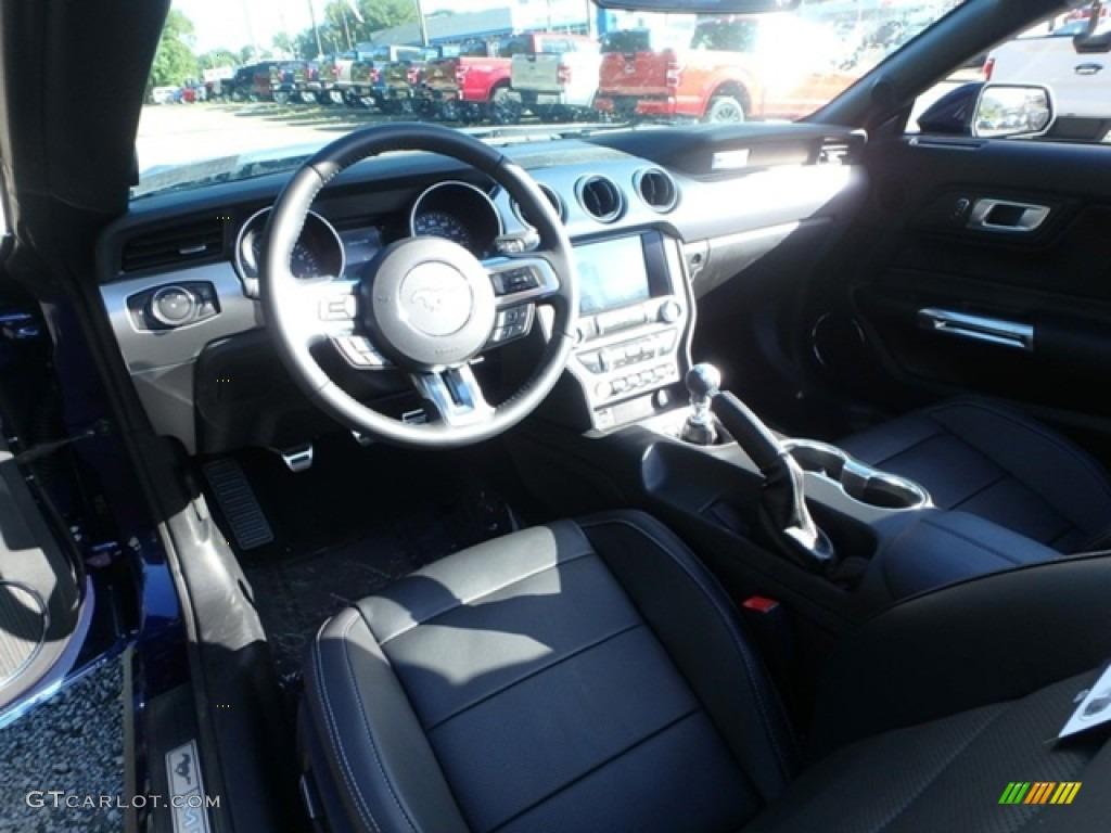 2019 Mustang GT Premium Convertible - Kona Blue / Ebony photo #13