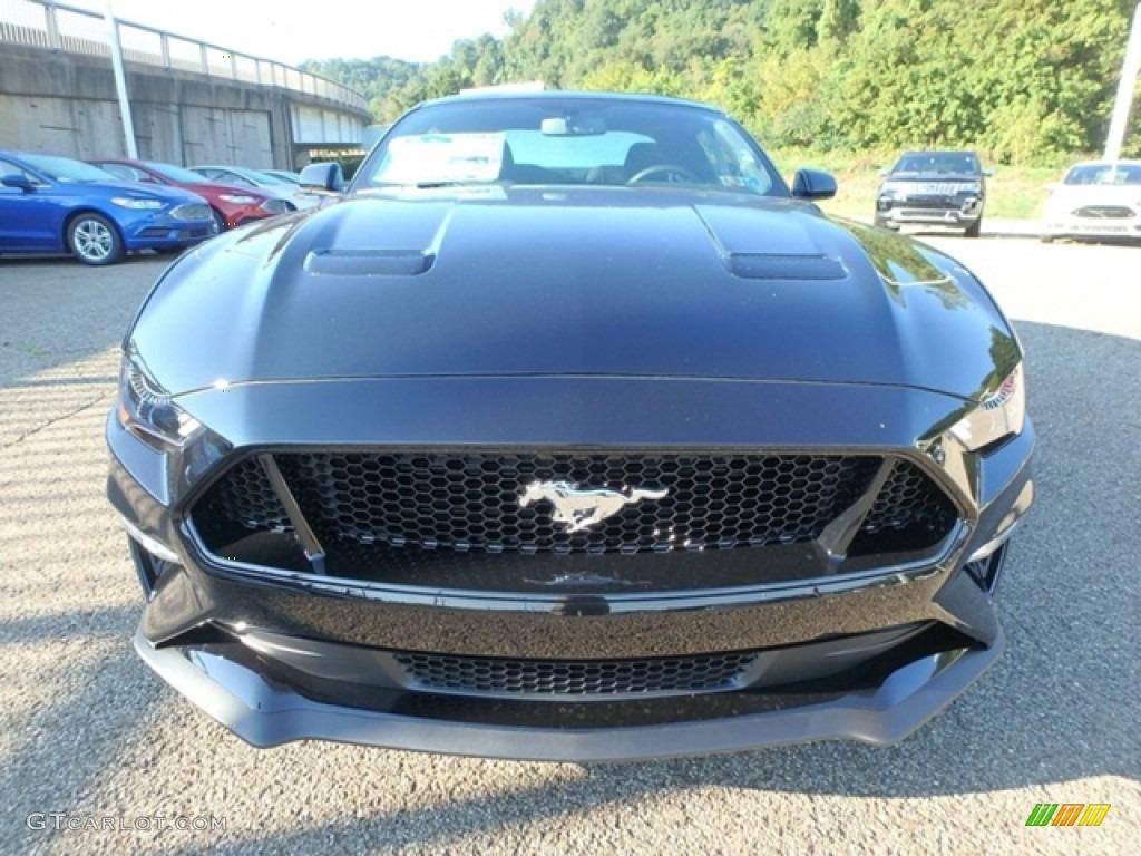 2019 Mustang GT Fastback - Shadow Black / Ebony photo #6