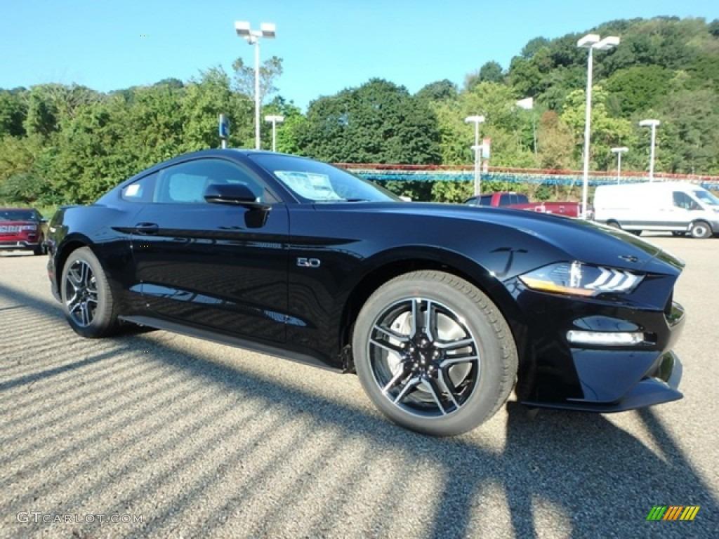 2019 Mustang GT Fastback - Shadow Black / Ebony photo #9