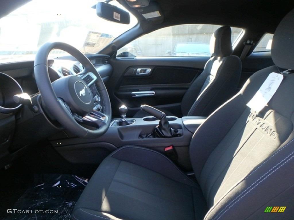 2019 Mustang GT Fastback - Shadow Black / Ebony photo #11