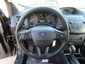 Chromite Gray/Charcoal Black Steering Wheel Photo for 2019 Ford Escape #131342429