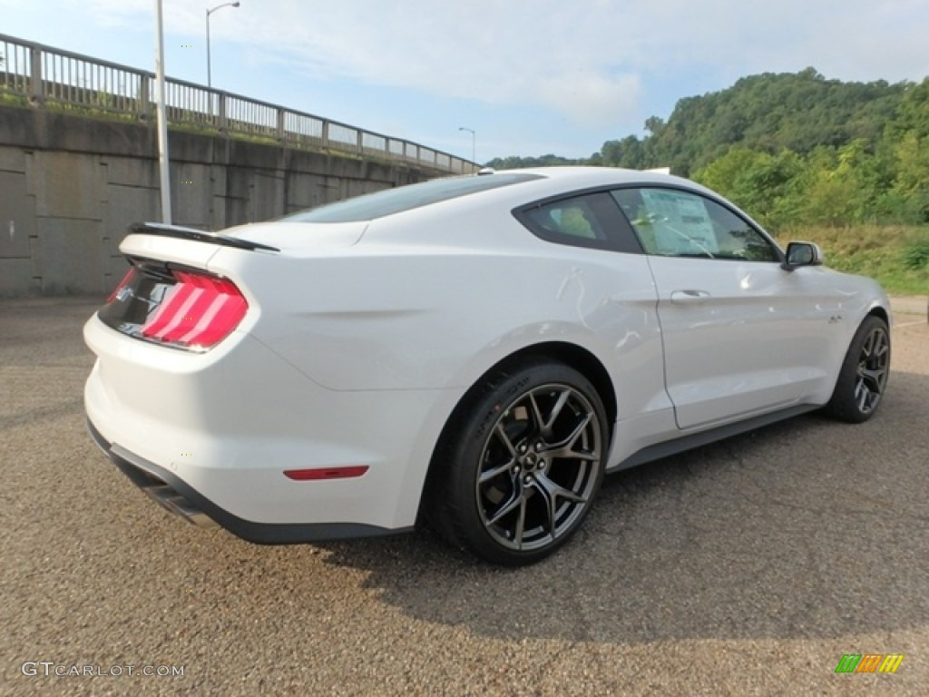 2019 Mustang GT Premium Fastback - Oxford White / Ebony photo #2